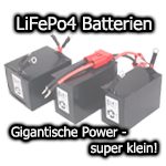 LiFePo4 Batterien