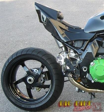 BIG BIKE Fighter Einmann Heck Race BH1040 Fur Kawasaki Z1000 Bj03 06