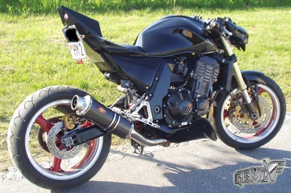 GEMO Fighters Bugspoiler Fur Kawasaki Z1000